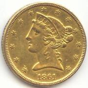 $5 Liberty Head Gold