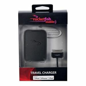 Rocketfish iPhone , iPad , iPod AC Charger (RF-A4B95)