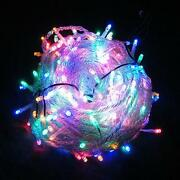 100 LED Lichterkette Bunt