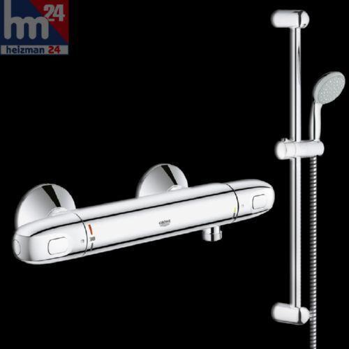 Grohe Duschsystem 34151003 inkl. Grohtherm 1000 und Brausegarnitur 600 mm