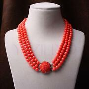 Vintage Coral Necklace