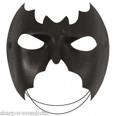 Damen Herren Batman Batgirl Fledermaus Halloween Kostüm Augen Maske