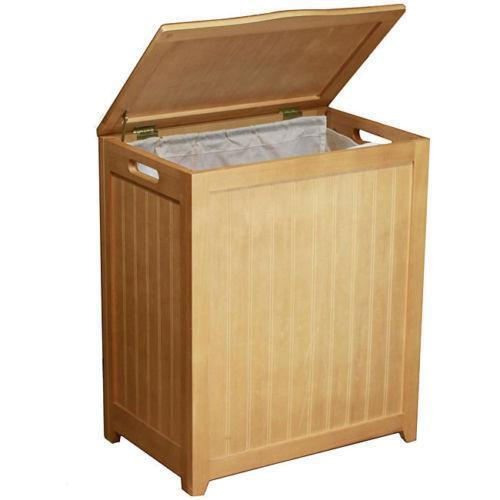 Wood Laundry Hamper Ebay