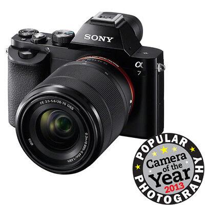 Sony a7K Full-Frame Mirrorless Camera with FE 28-70mm f/3.5-5.6 OSS