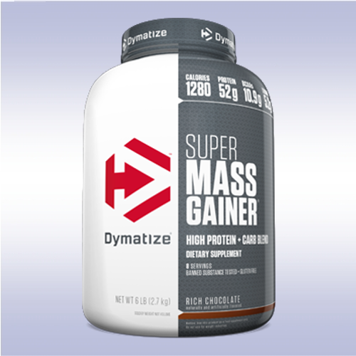 DYMATIZE SUPER MASS GAINER  protein carbs weight muscle whey