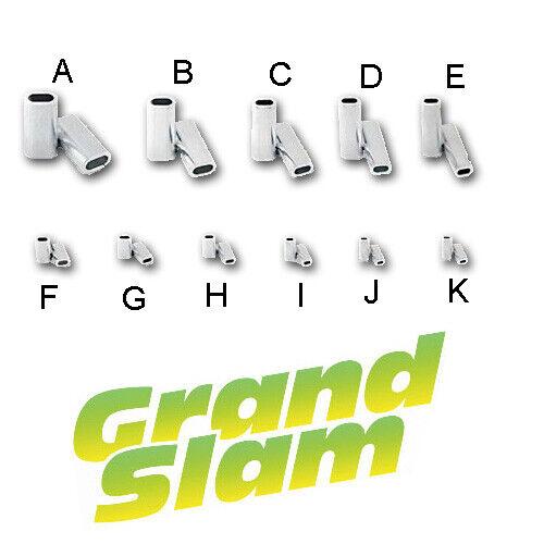 Hi-Seas Grand Slam Aluminum Crimp Sleeves Leader Making Crimps Size F G H I J K