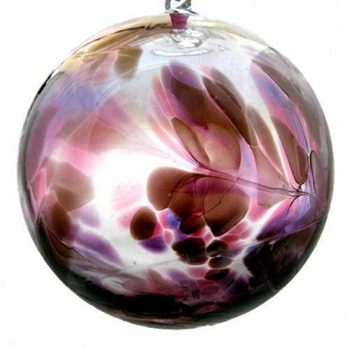 Blue Christmas Ball Ornaments Uk: Glass Witches Ball