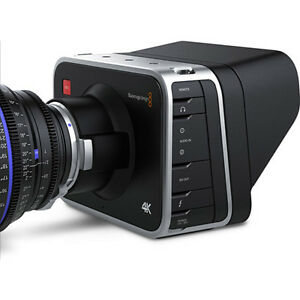 new Black Magic production camera including lens