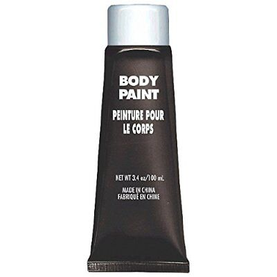 Amscan Party Perfect Team Spirit Body Paint, Black, Non-Toxic, 3.4 Ounces - Halloween Body Paintings