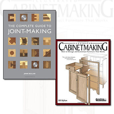 - The Complete Guide to Joint-Making Illustrated and Cabinetmaking 2 Books Set NEW