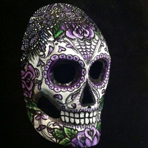 Dia de Los Muertos Skull | eBay