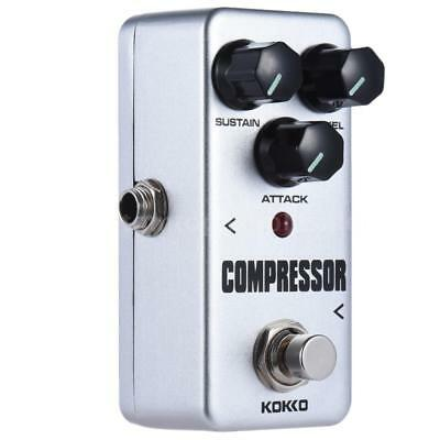 Professional KOKKO FCP2 Mini Compressor Pedal Portable Guitar Effect Pedal A4D8