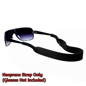 Sports Glasses Sunglasses Grip Neoprene Stretchy Strap Floating Neck Cord Band