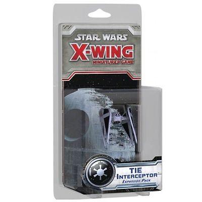 Tie Interceptor Expansion Pack Star Wars X-Wing Fantasy Flight FFGSWX09 Sealed