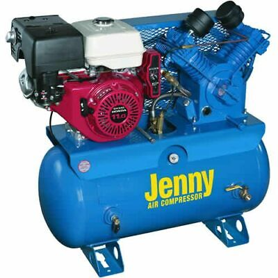 Jenny W11HGB-30T 11-HP 30-Gallon Two-Stage Truck Mount Air Compressor w/...
