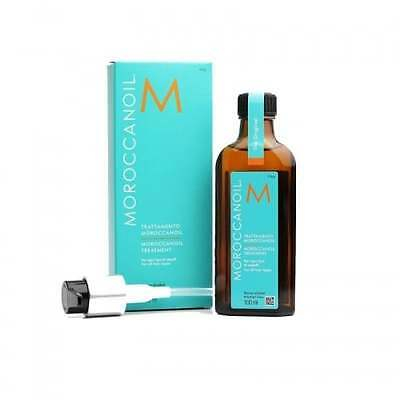 Moroccanoil Hair Treatment Oil For All Hair Types Alcohol Free 100ml ...