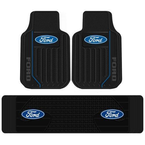 Ford Logo Rubber Floor Mats | eBay