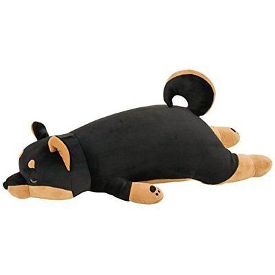 LivHeart Premium Body Pillow Hug Pillow M Kotetsu Black Shiba Dog from Japan*