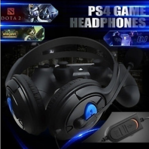 Wired Headphones with Mic for PS4 PC Laptop,phone 100% NEW