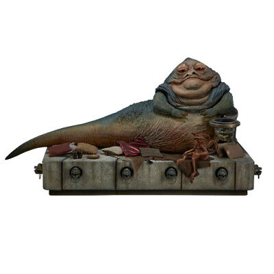 "Star Wars - Jabba the Hutt and Throne Deluxe 1/6 Action Figure 12 "" Sideshow for sale  Shipping to Ireland"