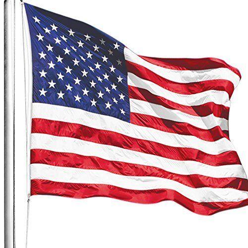American Flag 4x6 ft. The Strongest Longest Durable USA Flag Heavy Duty 4x6 Foot