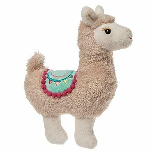 Mary Meyer Lily Llama Baby Rattle, 6""