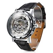 Mens Swiss Skeleton Watch