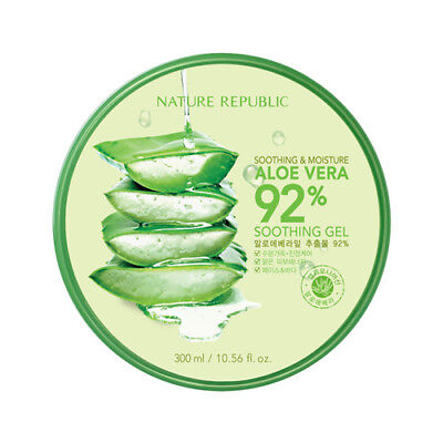 [NATURE REPUBLIC] SOOTHING & MOISTURE ALOE VERA 92% SOOTHING  / Korean Cosmetics