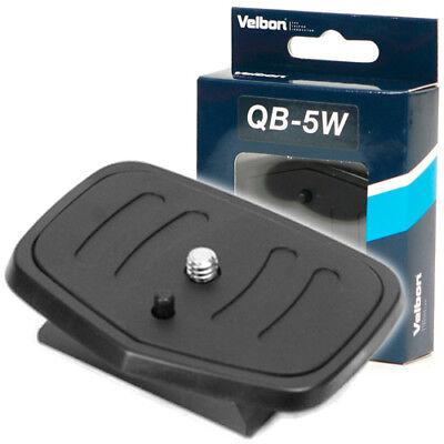Velbon Quick Release Plate QB-5W for CX-560 CX-660 CX-684 DF-60 Camera Tripod