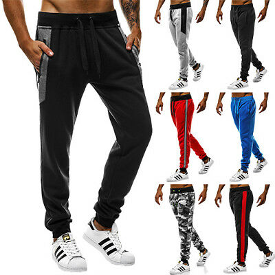 OZONEE Herren Traininghose Sport Fitness Jogging Freizeithose Jogger 7744 MIX ★