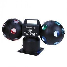 Roto ball disco lights