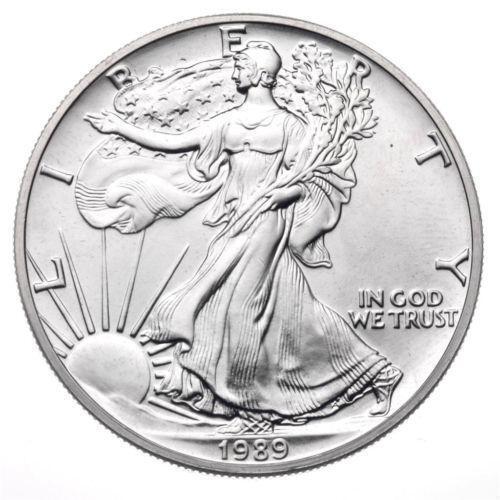 1989 American Eagle Silver Dollar Ebay