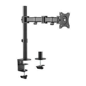 DESK MOUNT FOR LCD MONITOR MONITORS 13-27 IN SCREENS SINGLE ARM MONITOR MOUNT $25 DOUBLE ARM MONITOR MOUNT $35