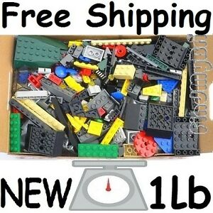 FREE SHIPPING ★ Brand NEW ★ LEGO Parts 1lb Ramdom 500+ Pieces Bulk Lot Brand NEW