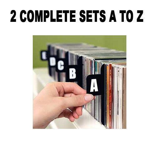 DVD DIVIDERS (Section Separators CD Dividers/DVD Dividers) 2 Sets