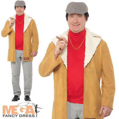 Del Boy Mens Fancy Dress Only Fools and Horses TV Comedy Adults Costume Outfit - Del Boy Kostüm