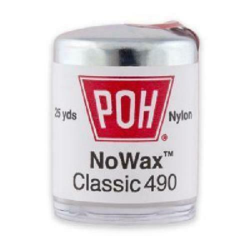 Poh Dental Floss Unwaxed 100 Yd 4 Pack