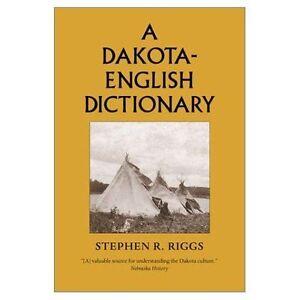 Dakota-English Dictionary by Stephen R. Riggs (Hardback, 1992)