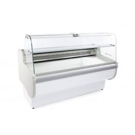Rota 100 - Temperature- Slimline Curved Glass Serve Over Counter 1700Wx830Dmm