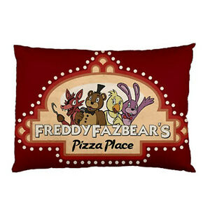 Details about new five nights at freddys pizzeria for pillow case one