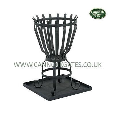 Garden Fire Pit Basket Decoration Patio Heater Steel