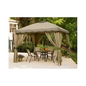 Portable gazebo ebay for Pop up garten pool