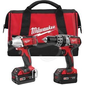 Milwaukee M18™ Cordless LITHIUM-ION 2-Tool Combo Kit