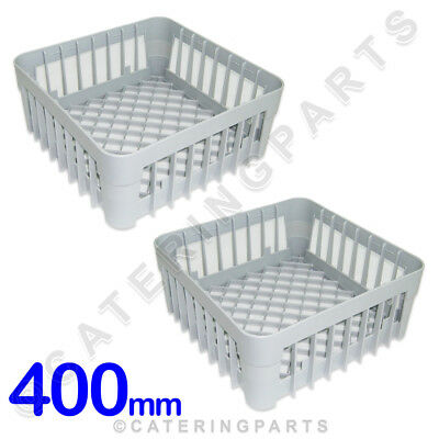 2 x 400mm x 400mm GLASSWASHER DISHWASHER OPEN GLASS CUP RACK BASKET IME OMNIWASH 400 Mm Basket
