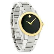 Movado Mens Watch Two Tone