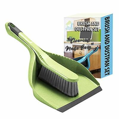 Guay Clean Brush and Dustpan Set - Heavy Duty Cleaning Tool Kit - Collects Du...