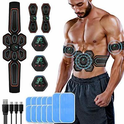 EMS Bauchmuskeltrainer Muskelstimulator Bauchtrainer Fitnessgürtel