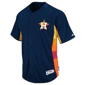HOUSTON ASTROS NEW MLB AUTHENTIC MAJESTIC COOL BASE JERSEY SIZE XL