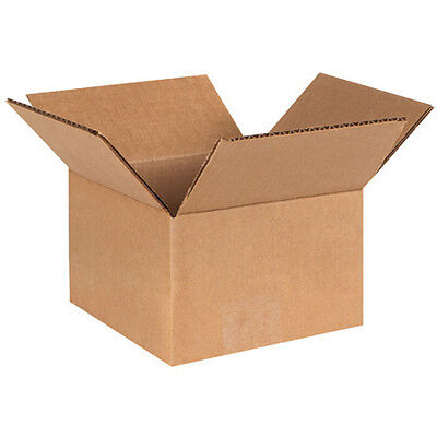 (50) 6 x 6 x 4 Small Packing Shipping Cardboard Box Carton