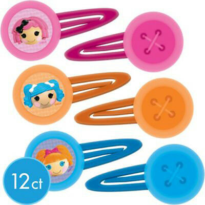 LALALOOPSY BARRETTES (12) ~ Birthday Party Supplies Favors Hair Accessories Clip](Lalaloopsy Party Supplies)